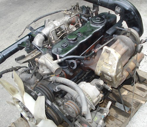 Isuzu 4BD2 T diesel engine factory workshop and repair